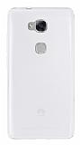 Eiroo Huawei GR5 Ultra İnce Şeffaf Silikon Kılıf