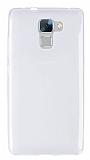 Huawei Honor 7 Ultra İnce Şeffaf Silikon Kılıf