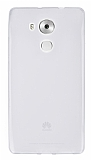 Huawei Mate 8 Ultra İnce Şeffaf Silikon Kılıf
