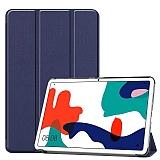 Eiroo Huawei MatePad 10.4 Slim Cover Lacivert Kılıf