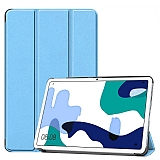 Eiroo Huawei MatePad 10.4 Slim Cover Mavi Kılıf