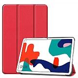 Eiroo Huawei MatePad 10.4 Slim Cover Kırmızı Kılıf