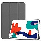Eiroo Huawei MatePad 10.4 Slim Cover Gri Kılıf