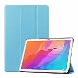 Eiroo Huawei MatePad T10 / T10S Slim Cover Mavi Kılıf
