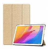 Eiroo Huawei MatePad T10 Slim Cover Gold Kılıf