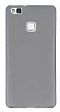 Eiroo Huawei P9 Lite Ultra �nce �effaf Siyah Silikon K�l�f