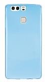 Eiroo Huawei P9 Ultra �nce �effaf Mavi Silikon K�l�f
