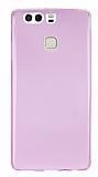 Eiroo Huawei P9 Ultra �nce �effaf Pembe Silikon K�l�f