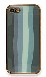 Eiroo Hued iPhone 7 / 8 Cam Yeşil Rubber Kılıf