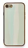 Eiroo Hued iPhone 7 / 8 Cam Açık Yeşil Rubber Kılıf