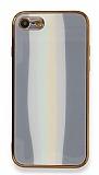 Eiroo Hued iPhone 7 / 8 Cam Gri Rubber Kılıf