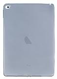 iPad Air 2 Şeffaf Siyah Silikon Kılıf