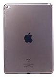 Apple iPad mini 4 Ultra İnce Şeffaf Siyah Silikon Kılıf