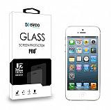 Eiroo iPhone SE / 5 / 5S / 5C Tempered Glass Cam Ekran Koruyucu