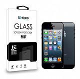 Eiroo iPhone SE / 5 / 5S Ön + Arka Tempered Glass Cam Ekran Koruyucu