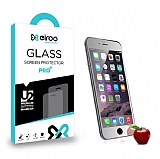 Eiroo iPhone 6 / 6S Tempered Glass Ayna Silver Cam Ekran Koruyucu