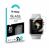 Eiroo Apple Watch / Watch 2 Tempered Glass Cam Ekran Koruyucu (42 mm)