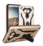 Eiroo Iron Care Huawei Mate 10 Ultra Koruma Gold Kılıf