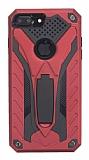 Eiroo Iron Care iPhone 8 Plus Ultra Koruma Kırmızı Kılıf