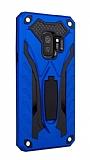 Eiroo Iron Care Samsung Galaxy A6 2018 Ultra Koruma Lacivert Kılıf