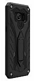 Eiroo Iron Care Samsung Galaxy C9 Pro Ultra Koruma Siyah Kılıf