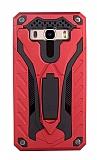 Eiroo Iron Care Samsung Galaxy J5 2016 Ultra Koruma Kırmızı Kılıf