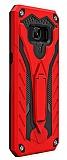 Eiroo Iron Care Samsung Galaxy J7 Max Ultra Koruma Kırmızı Kılıf