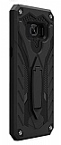 Eiroo Iron Care Samsung Galaxy Note 5 Ultra Koruma Siyah Kılıf