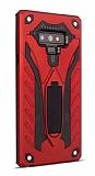 Eiroo Iron Care Samsung Galaxy Note 9 Ultra Koruma Kırmızı Kılıf