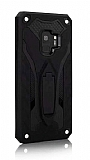 Eiroo Iron Care Samsung Galaxy S9 Ultra Koruma Siyah Kılıf