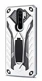 Eiroo Iron Care Xiaomi Redmi Note 8 Pro Ultra Koruma Silver Kılıf