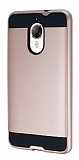 Eiroo Iron Shield General Mobile GM 5 Plus Ultra Koruma Rose Gold Kılıf