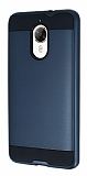Eiroo Iron Shield General Mobile GM5 Plus Ultra Koruma Lacivert Kılıf