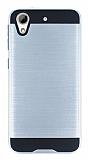 Eiroo Iron Shield HTC Desire 626 Ultra Koruma Silver Kılıf