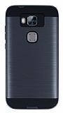 Eiroo Iron Shield Huawei G8 Ultra Koruma Dark Silver K�l�f