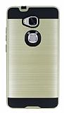 Eiroo Iron Shield Huawei GR5 Ultra Koruma Gold Kılıf