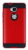 Eiroo Iron Shield Huawei GR5 Ultra Koruma Kırmızı Kılıf