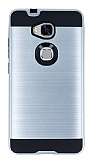 Eiroo Iron Shield Huawei GR5 Ultra Koruma Silver Kılıf