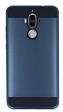 Eiroo Iron Shield Huawei Mate 9 Ultra Koruma Lacivert Kılıf