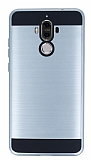 Eiroo Iron Shield Huawei Mate 9 Ultra Koruma Silver Kılıf