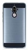 Eiroo Iron Shield Huawei Mate 9 Ultra Koruma Dark Silver Kılıf