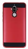Eiroo Iron Shield Huawei Mate 9 Ultra Koruma Kırmızı Kılıf
