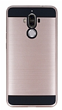 Eiroo Iron Shield Huawei Mate 9 Ultra Koruma Rose Gold Kılıf