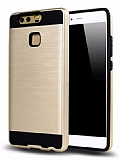 Eiroo Iron Shield Huawei P10 Lite Ultra Koruma Gold Kılıf