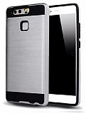 Eiroo Iron Shield Huawei P10 Lite Ultra Koruma Silver Kılıf