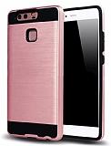 Eiroo Iron Shield Huawei P10 Lite Ultra Koruma Rose Gold Kılıf