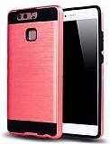 Eiroo Iron Shield Huawei P10 Plus Ultra Koruma Kırmızı Kılıf