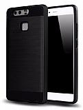Eiroo Iron Shield Huawei P10 Plus Ultra Koruma Siyah Kılıf