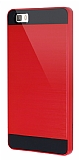 Eiroo Iron Shield Huawei P8 Lite Ultra Koruma Kırmızı Kılıf