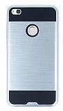Eiroo Iron Shield Huawei P9 Lite 2017 Ultra Koruma Silver Kılıf